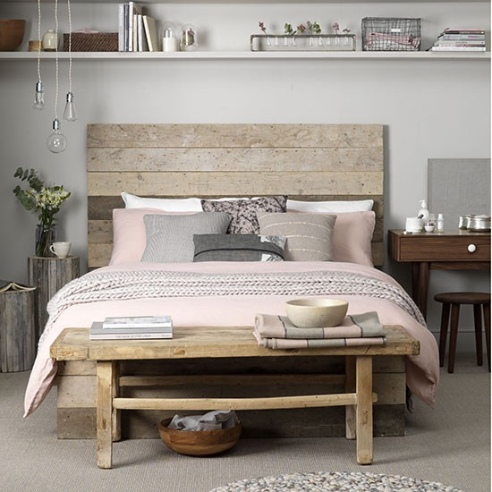 Neutral bedroom with natural textures | How to decorate with neutrals | PHOTO GALLERY | Ideal Home | Housetohome.co.uk