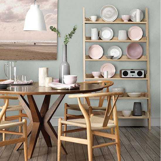 Dining area in a gentle seaside palette | How to decorate with neutrals | PHOTO GALLERY | Ideal Home | Housetohome.co.uk