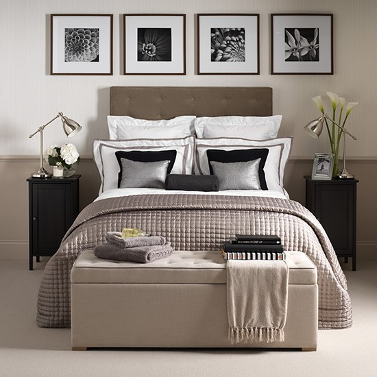 Glamorous Hotel chic Bedroom How To Decorate With
