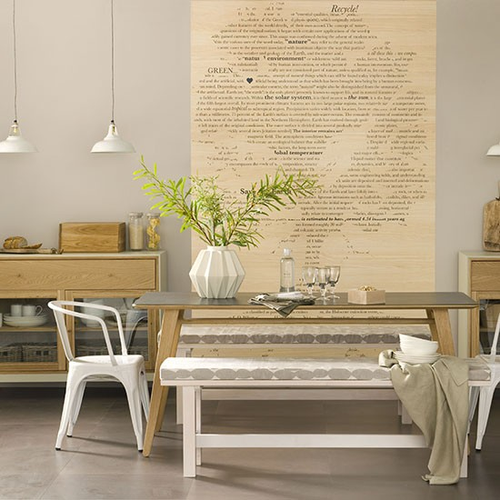 Kitchen-diner in warm wood shades | How to decorate with neutrals | PHOTO GALLERY | Ideal Home | Housetohome.co.uk