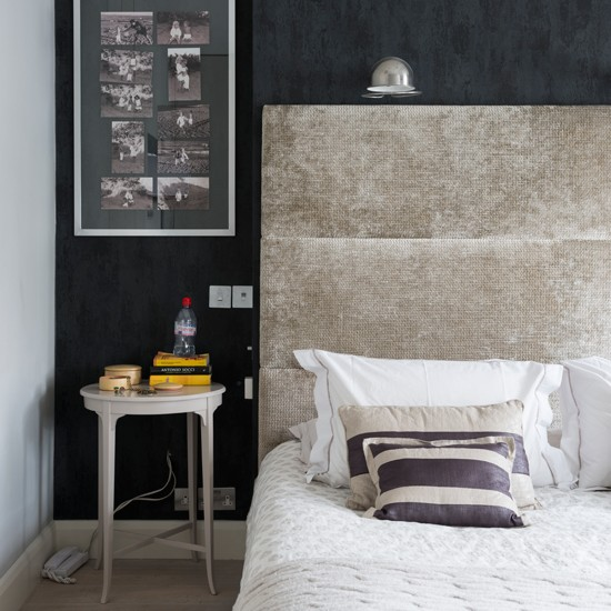 black and grey textured bedroom bedroom decorating ideas