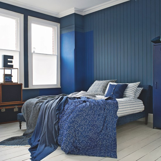 elegant navy and white bedroom bedroom decorating ideas. Black Bedroom Furniture Sets. Home Design Ideas