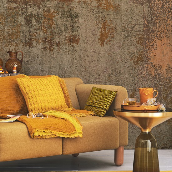 Yellow and mustard living room living room decorating - Decorating with mustard yellow ...