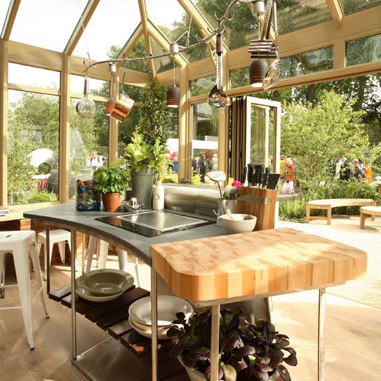 kitchen conservatory country conservatory ideas