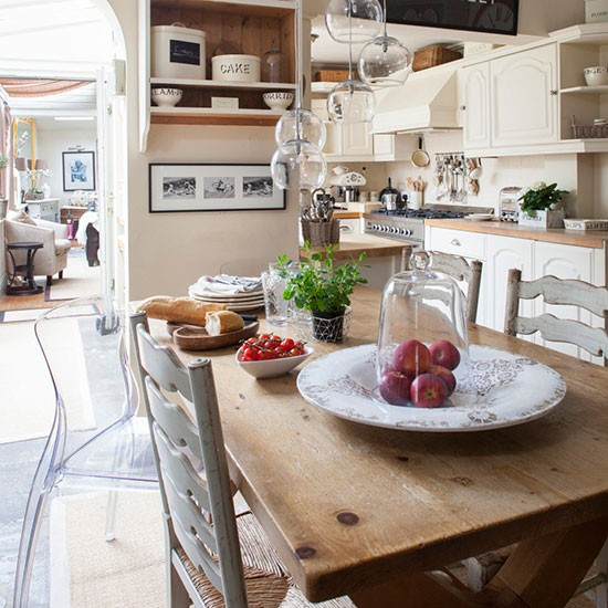 Warm And Inviting Kitchen Diner Country Dining Room Ideas Dining