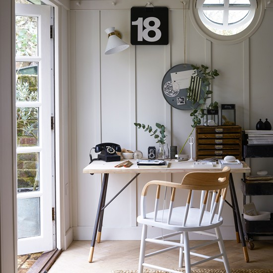 Rustic-style home office | French vintage design room ideas | Design | PHOTO GALLERY | Housetohome.co.uk