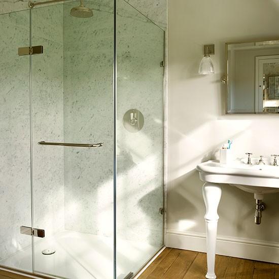 Marble And Ornate Basin Bathroom