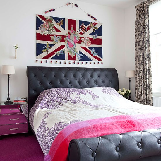 Main bedroom be inspired by this quirky home in south for Bedroom designs london