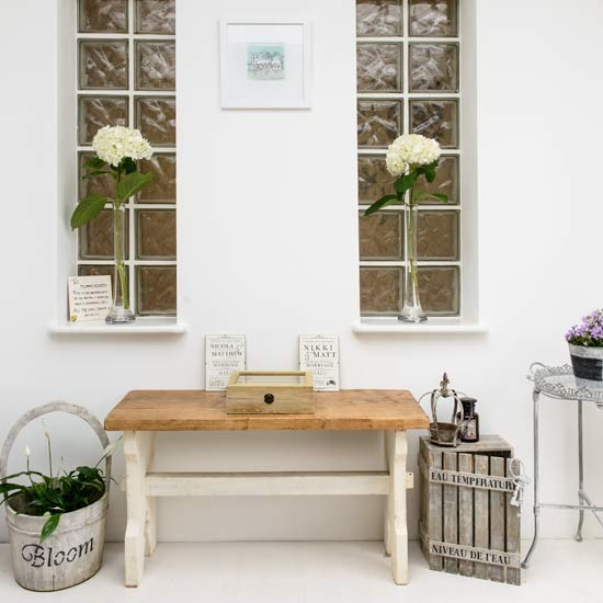 Conservatory console table | Gloucestershire family home | House tour | PHOTO GALLERY | Style at Home | Housetohome.co.uk
