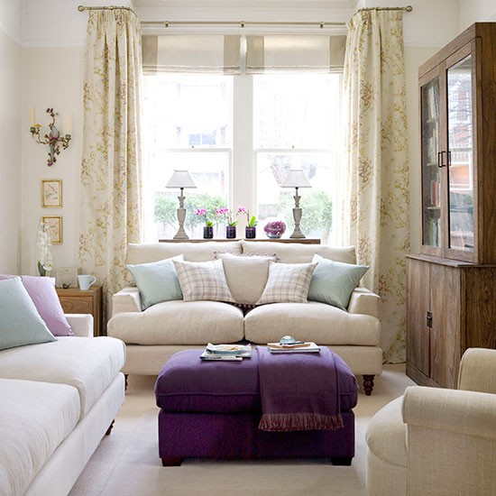 Neutral living room for Cream living room designs