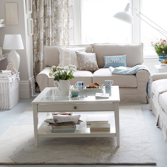 calm and classic seating area neutral living room ideas