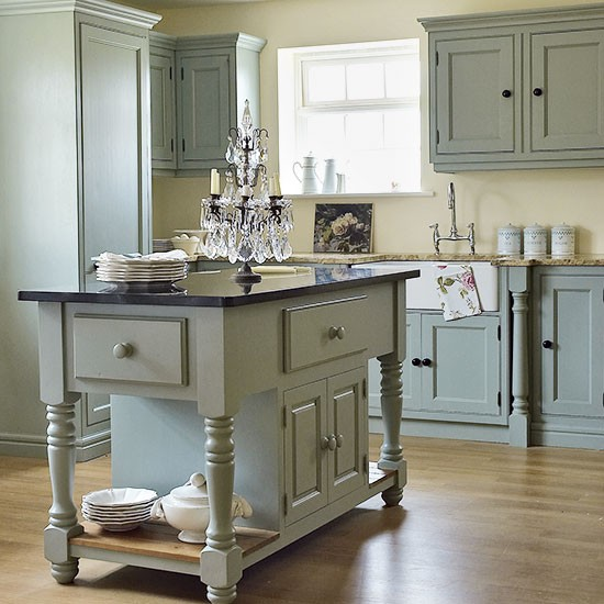 Period French-inspired kitchen | Freestanding kitchen ideas | Kitchen | PHOTO GALLERY | Beautiful Kitchens | Housetohome.co.uk
