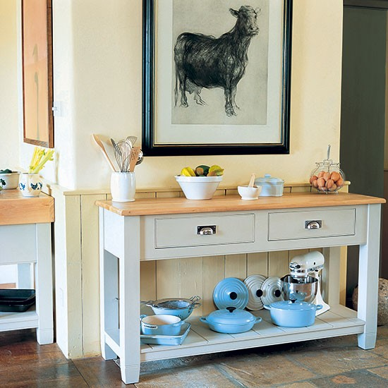 Freestanding kitchen furniture | Freestanding kitchen ideas | Kitchen | PHOTO GALLERY | Beautiful Kitchens | Housetohome.co.uk