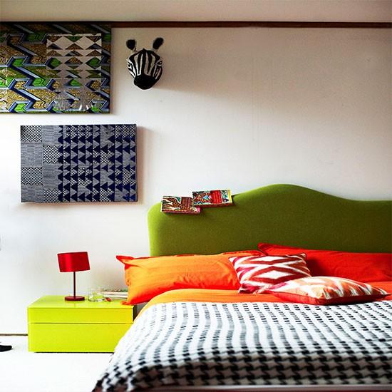 Bright Tribal Bedroom Tribal Room Design Ideas