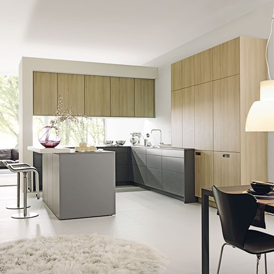 Designer Kitchen Units: Contemporary Kitchen Cabinetry