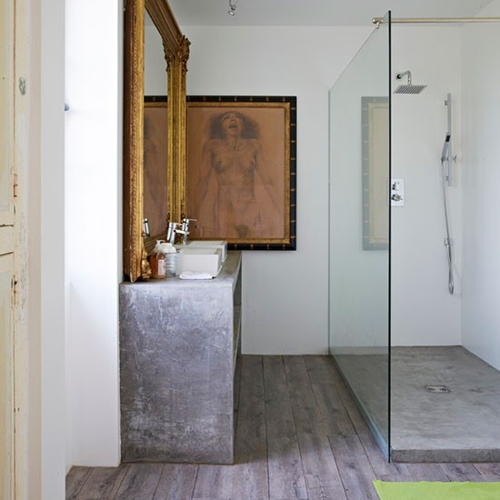 Arty Modern Shower Room Modern Shower Room Ideas