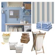 blue and cream utility