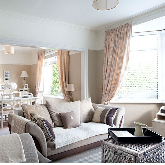 Relaxed neutral living room  Living room decorating ...