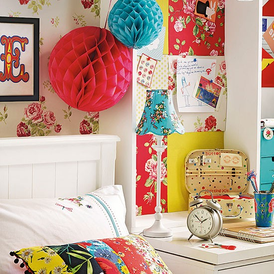 Colourful Boho Chic Girls Bedroom Childrens Room