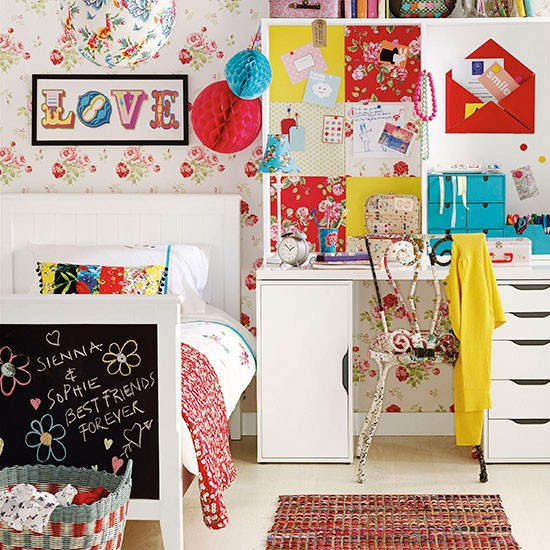 Boho chic children's bedroom | Children's bedroom decorating | Ideal Home | Housetohome.co.uk