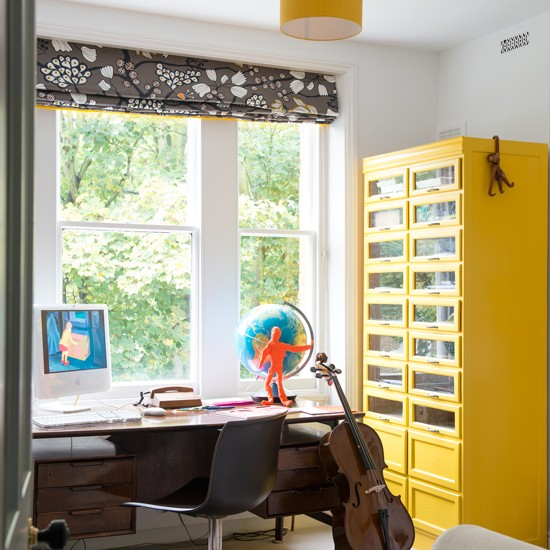 Yellow And Grey Home Office Grey And Yellow Colour