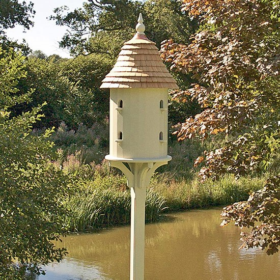 Find a birdhouse in the shape of a real home | Celia Rufey garden questions | garden ideas | PHOTO GALLERY | Housetohome