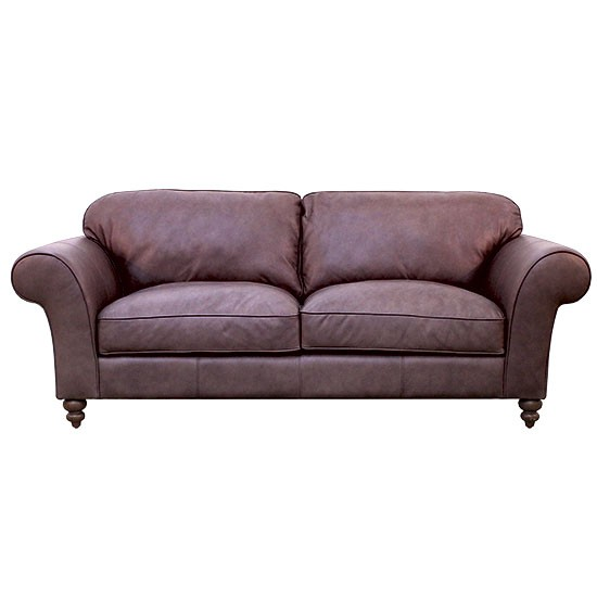 Sheringham Leather Sofa From Harveys Traditional Sofas
