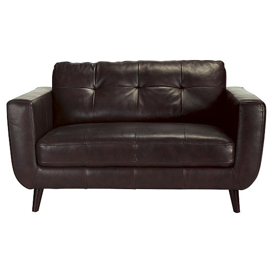 Lorenzo Small Leather Sofa From Tesco Direct Traditional Sofas