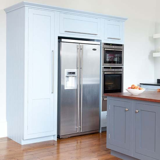 full height kitchen units with appliances take a look