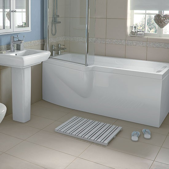 Olney Shower Bath From Homebase Shower Baths