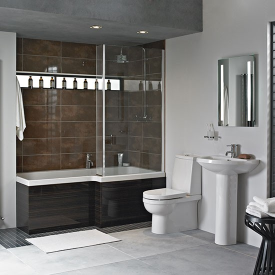 Bathrooms Uk : ... shower-bath from Heritage Bathrooms Shower-baths housetohome.co.uk