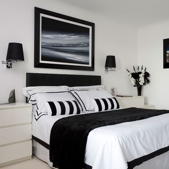 Bedroom Be Inspired By This Modern Monochrome Apartment