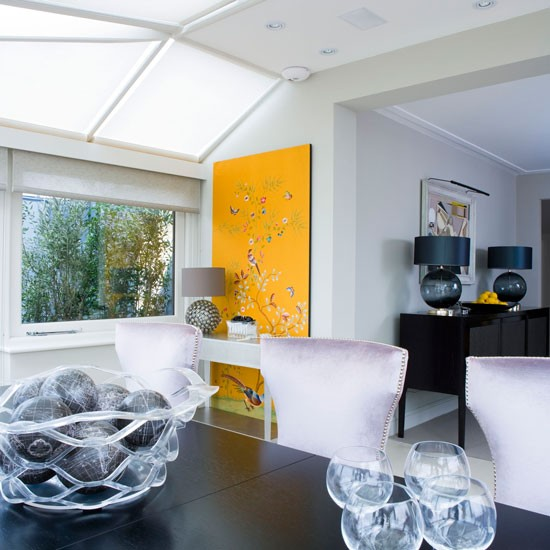 Conservatory And Glass Extension Ideas: Glass Extension Furnishings