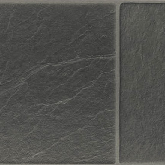 Black Slate Laminate Flooring : Westco black slate effect laminate tile flooring from