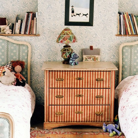 Striped chest of drawers for a child's room | Children's room ideas | Children's room | PHOTO GALLERY | Homes & Gardens | Housetohome.co.uk