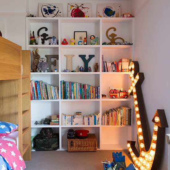 Children 39 S Fitted Bookcase Children 39 S Bedroom Ideas