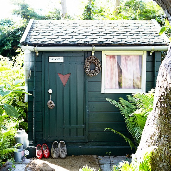 Country garden with shed | Country garden design ideas | Garden | PHOTO GALLERY | Housetohome.co.uk