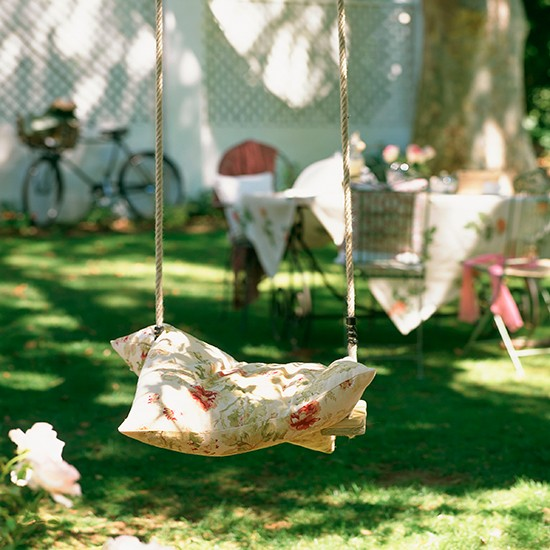 Country garden with wooden swing | Country garden design ideas | Garden | PHOTO GALLERY | Housetohome.co.uk