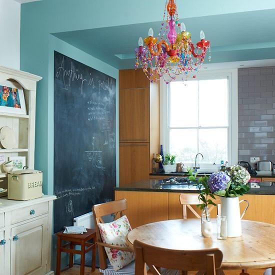 blackboard kitchen wall contemporary kitchen ideas kitchen photo