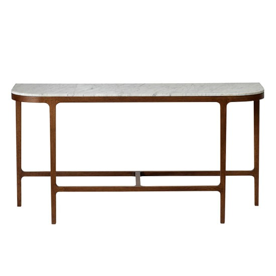 Victoria Marble Console Table From The Conran Shop