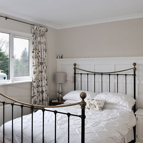 White And Cream Bedroom Decorating Housetohome