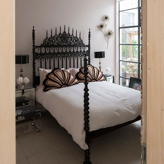 Main bedroom | Urban chic north London home | House tour | PHOTO GALLERY | Livingetc | Housetohome