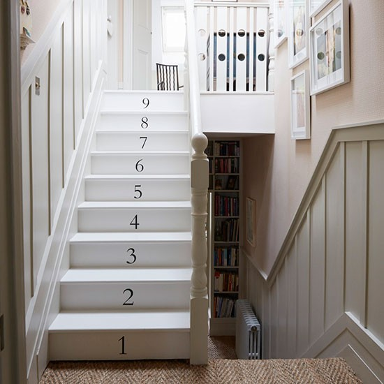 small attic bedroom ideas - Staircase
