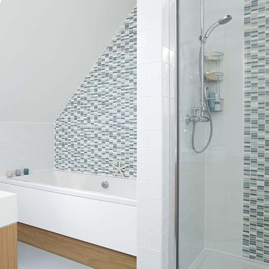 Shower rooms for Feature wall tile ideas