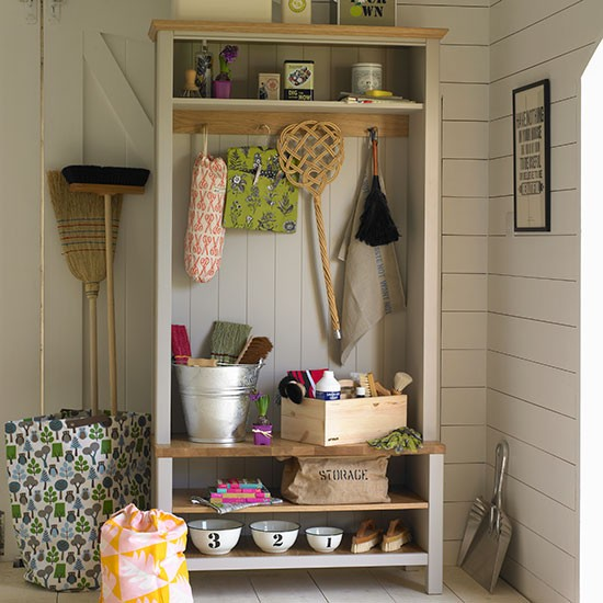 Housework cupboard | Country storage ideas | PHOTO GALLERY | Country Homes and Interiors | Housetohome.co.uk