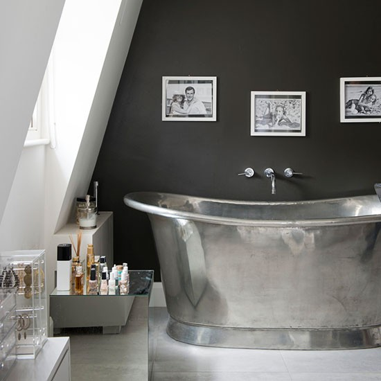 Modern Monochrome Bathroom How To Decorate With Grey