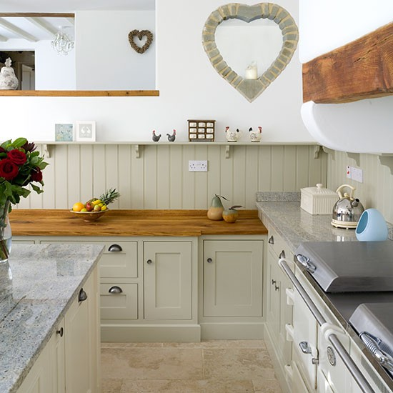 Shaker style country kitchen kitchen decorating for Country kitchen ideas uk