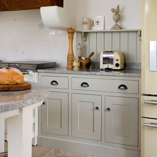 Neutral Shaker-style Kitchen