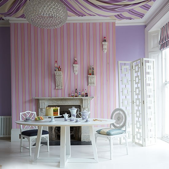 Lilac dining