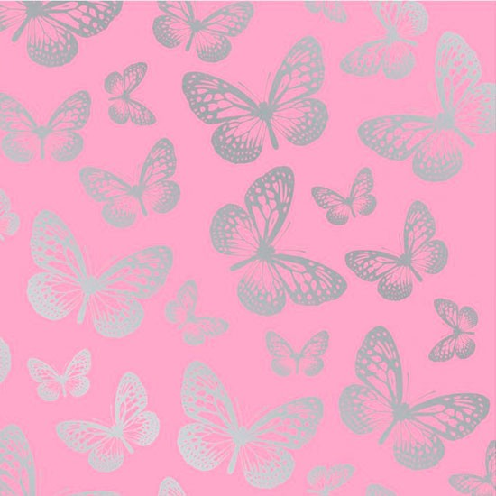 Pink vintage butterfly background - photo#6